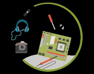 Kleinelektronik & Bauteile