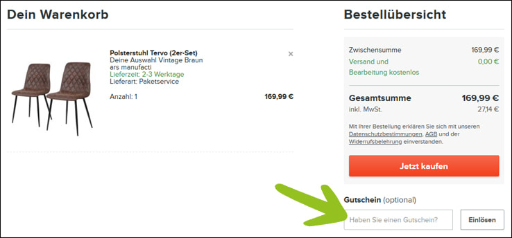 home24 Gutschein: 20€ Gutscheincode | Grüne Gutscheine